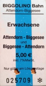 ticket Biggolino