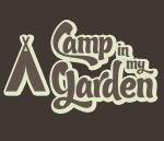 camp in my garden