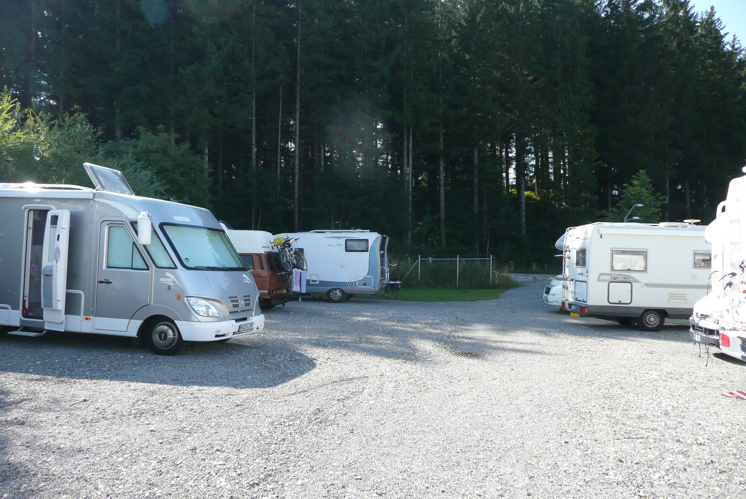 camperplaats fussen