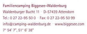 adresse attendorn camping