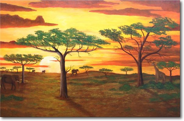 painting africa