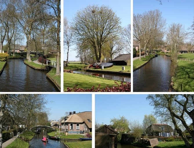 giethoorn collage