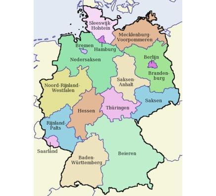 kaart-duitsland