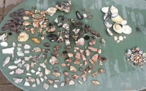 gevonden stenen
