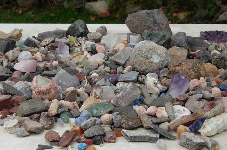 mineralen zoeken in nederland